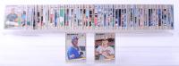1989 Fleer Baseball Complete Set of (660) Cards with Ken Griffey Jr. #548 RC, Barry Bonds #202, Randy Johnson #381, Nolan Ryan #368 at PristineAuction.com
