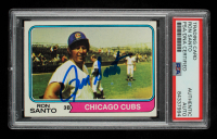 Ron Santo Signed 1974 Topps #270 (PSA Encapsulated) at PristineAuction.com