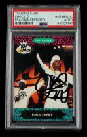 Chuck D Signed 1991 YO! MTV Raps Complete Series #61 (PSA Encapsulated) at PristineAuction.com