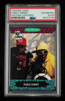 Chuck D & Flavor Flav Signed 1991 YO! MTV Raps Complete Series #60 (PSA Encapsulated) at PristineAuction.com