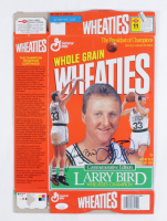 Larry Bird Signed Wheaties Commemorative Edition Cereal Box (JSA COA) at PristineAuction.com