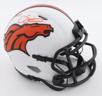 Courtland Sutton Signed Broncos Lunar Eclipse Alternate Speed Mini Helmet (Beckett Hologram) at PristineAuction.com