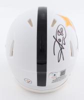 Hines Ward Signed Steelers AMP Alternate Mini Speed Helmet (Beckett Hologram) at PristineAuction.com