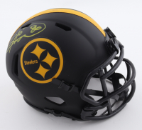 Hines Ward Signed Steelers Eclipse Alternate Speed Mini Helmet (Beckett Hologram) at PristineAuction.com