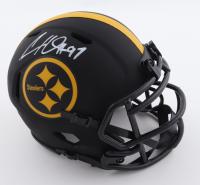 Cameron Heyward Signed Steelers Eclipse Alternate Speed Mini Helmet (Beckett Hologram) at PristineAuction.com