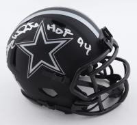 "Randy White Signed Cowboys Eclipse Alternate Speed Mini Helmet Inscribed ""HOF 94"" (Beckett Hologram) at PristineAuction.com"