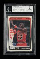 Michael Jordan 1988-89 Fleer #17 (BGS 7) at PristineAuction.com