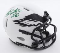 Miles Sanders Signed Eagles Lunar Eclipse Alternate Speed Mini-Helmet (Beckett Hologram) at PristineAuction.com