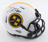 Cameron Heyward Signed Steelers Lunar Eclipse Alternate Speed Mini Helmet (Beckett Hologram) at PristineAuction.com