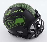 "Steve Hutchinson Signed Seahawks Eclipse Alternate Speed Mini Helmet Inscribed ""HOF 20"" (Beckett Hologram) at PristineAuction.com"