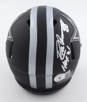 "Drew Pearson Signed Cowboys Eclipse Alternate Speed Mini Helmet Inscribed ""HOF 21"" (Beckett Hologram) at PristineAuction.com"
