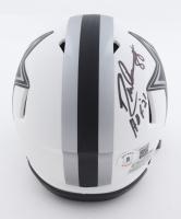 "Drew Pearson Signed Cowboys Lunar Eclipse Alternate Speed Mini Helmet Inscribed ""HOF 21"" (Beckett Hologram) at PristineAuction.com"