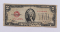 1928-C $2 Two Dollar U.S. National Currency Red Seal Bank Note at PristineAuction.com