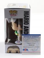 Mario Andretti Signed Mario Andretti #10 Funko Pop! Vinyl Figure (PSA COA) at PristineAuction.com