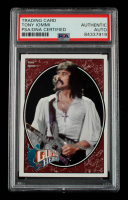 Tony Iommi Signed 2008 Upper Deck Heroes #266 (PSA Encapsulated) at PristineAuction.com