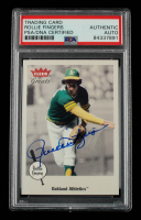Rollie Fingers Signed 2002 Greats of the Game #17 (PSA Encapsulated) at PristineAuction.com