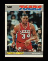 Charles Barkley 1987-88 Fleer #9 at PristineAuction.com