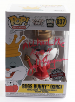"""Jeff Bergman Signed """"Looney Tunes"""" #837 Bugs Bunny (King) Funko Pop! Vinyl Figure Inscribed """"All Hail the King"""" (PSA COA) at PristineAuction.com"""