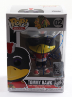 Jeremy Roenick Signed Blackhawks #02 Tommy Hawk Funko Pop! Vinyl Figure (PSA COA) at PristineAuction.com