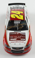 Jeff Gordon Signed Rare Pre-Production Sample 2013 NASCAR #24 Drive to End Hunger / Chase Credit Card - 1:24 Premium Action Diecast Car (Gordon Hologram) at PristineAuction.com
