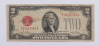 1928-G $2 Two Dollar U.S. National Currency Red Seal Bank Note at PristineAuction.com