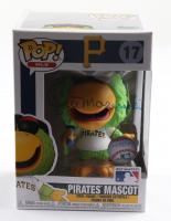 Bill Mazeroski Signed Pirates #17 Pirates Mascot Funko Pop! Vinyl Figure (PSA COA) at PristineAuction.com