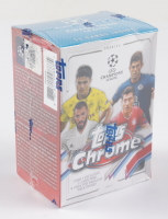 2020 Topps Chrome Champions League Soccer Blaster Box with (8) Packs (See Description) at PristineAuction.com