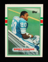 Barry Sanders 1989 Topps Traded #83T RC at PristineAuction.com