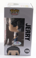 """Larry Thomas Signed """"Seinfeld"""" #1096 Jerry Funko Pop! Vinyl Figure Inscribed """"No Soup For You, Jerry!"""" & """"Soup Nazi"""" (PSA COA) at PristineAuction.com"""