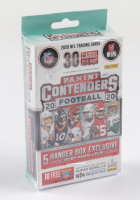 2020 Panini Contenders Football Hanger Box with (30) Cards (See Description) at PristineAuction.com