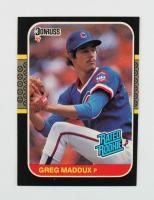 Greg Maddux 1987 Donruss #36 RC at PristineAuction.com