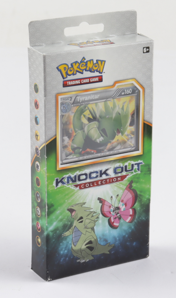 Pokemon Knock Out Collection Hanger Box with (2) Packs at PristineAuction.com