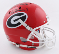 """Vince Dooley Signed Georgia Bulldogs Full-Size Helmet Inscribed """"1980 Natl. Champs!"""" & """"Go Dawgs!!"""" (Beckett COA) at PristineAuction.com"""