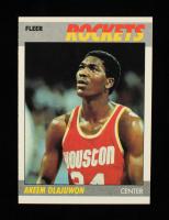 Akeem Olajuwon 1987-88 Fleer #80 at PristineAuction.com