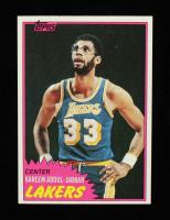 Kareem Abdul-Jabbar 1981-82 Topps #20 at PristineAuction.com