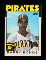 Barry Bonds 1986 Topps Traded #11T RC at PristineAuction.com