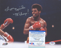 """Leon Spinks Signed 8x10 Photo Inscribed """"'78 Champ!"""" (PSA COA) at PristineAuction.com"""