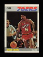 Julius Erving 1987-88 Fleer #35 at PristineAuction.com