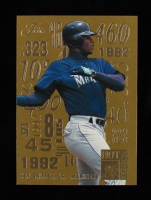Ken Griffey Jr. 1995 Flair Hot Numbers #4 at PristineAuction.com