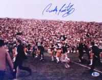 Rudy Ruettiger Signed Notre Dame Fighting Irish 11x14 Photo (Beckett COA) at PristineAuction.com