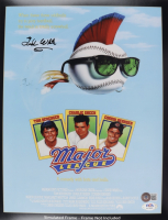 """Ted White Signed """"Major League"""" 11x14 Photo (Beckett COA) (See Description) at PristineAuction.com"""