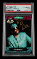 Kool Moe Dee Signed 1991 YO! MTV Raps Complete Series #41 (PSA Encapsulated) at PristineAuction.com