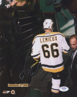 Mario Lemieux Signed Penguins 8x10 Photo (PSA COA) at PristineAuction.com
