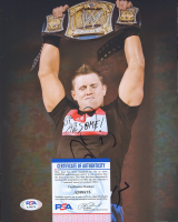 "Michael ""The Miz"" Mizanin Signed WWE 8x10 Photo (PSA COA) at PristineAuction.com"