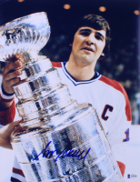 Serge Savard Signed Canadiens 11x14 Photo (Beckett COA) at PristineAuction.com
