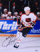 """Jeremy Roenick Signed 11x14 Photo Inscribed """"All My Best"""" (Beckett COA) at PristineAuction.com"""