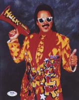 Jimmy Hart Signed 8x10 Photo (PSA COA) at PristineAuction.com