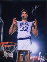 Christian Laettner Signed Duke Blue Devils 11x14 Photo (Beckett COA) at PristineAuction.com
