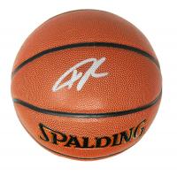 Giannis Antetokounmpo Signed NBA Basketball (Schwartz COA) at PristineAuction.com