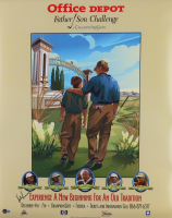 """Hale Irwin Signed """"Office Depot Father Son Challenge"""" 22x28 Poster (Beckett COA) at PristineAuction.com"""